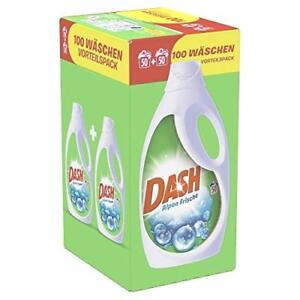 Dash-Vollwaschmittel-Fluessig-Alpen-Frische-L-Waschladungen-Blitzversand-OVP