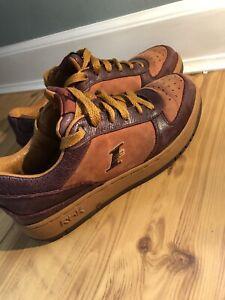 Brown Low Top Allen Iverson Size 8.5 | eBay