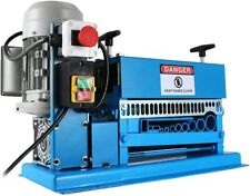 New 110v Motorized Cable Stripper Powered Electric Copper Wire Stripping Machine