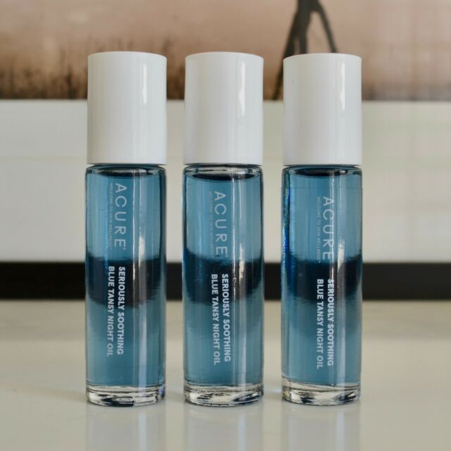 ACURE Seriously Soothing Blue Tansy Night Oil .3 Oz Travel