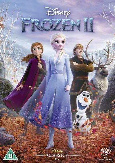 Frozen II DVD