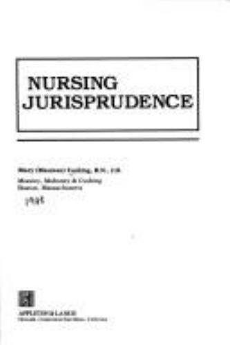 Nursing Jurisprudence by Mary Cushing