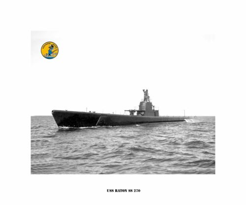 USS RATON SS 270 Fleet Naval Submarine USN Navy Photo Print