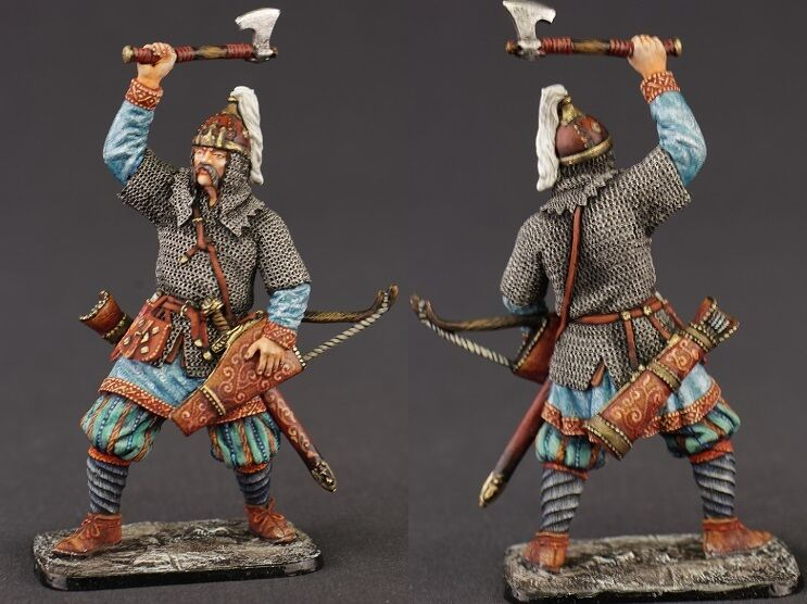 Tin toy soldiers ELITE painted 54 mm  Ancient Russian archer