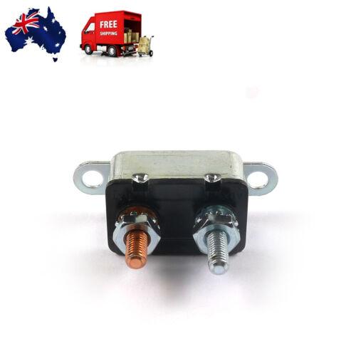 Auto Automatic Reset Circuit Breaker 12V Reset Dual battery Fuse Stud Bolt Metal
