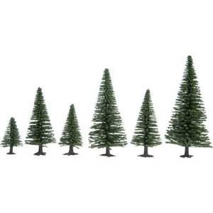 Kit-alberi-abete-35-fino-a-90-mm-noch-hobby-32820-verde-scuro-25-pz