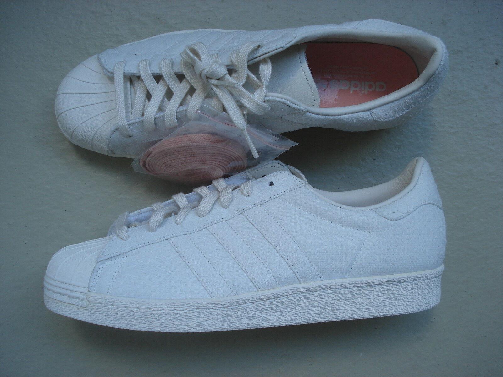zapatillasnstuff x adidas Superstar 80s 45 1 3  Shades of blanco  Pack WHT duspnk