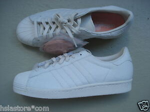 SNEAKERSnSTUFF x Adidas Superstar 80s 45 1/3 Shades of White Pack WHT/duspnk