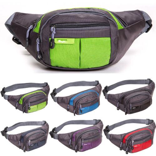 Fanny Pack Waist Hip Belt Bum Bag Travel Sport Pouch Men Women Hiking Waterproof
