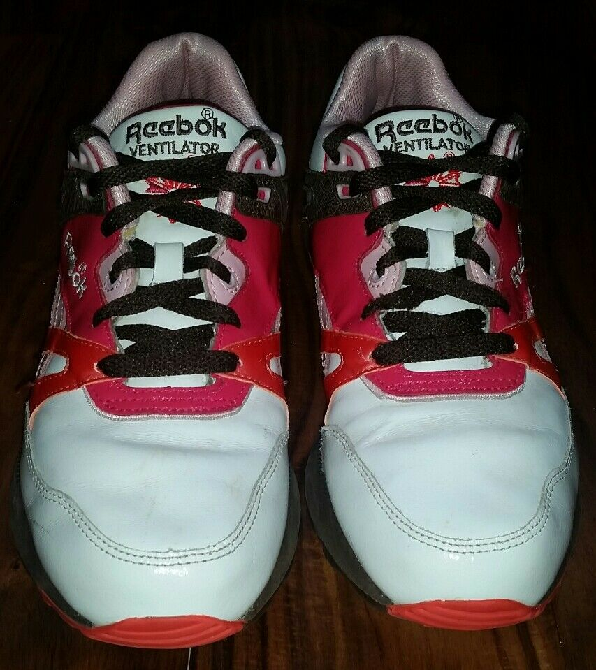 Reebok Reebok Reebok Classic Ventilator Womens Retro Running Workout shoes Hexalite Pink 8.5 201c3d