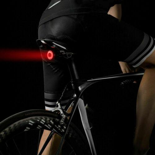 2 x Fahrrad Rücklicht LED Beleuchtung Rückleuchte 3 Funktionen USB Wasserdicht