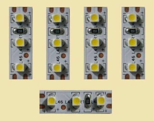 Mini LED Interior Lighting Warm White 2,5cm Lighting Houses Wagons 5 Piece S354