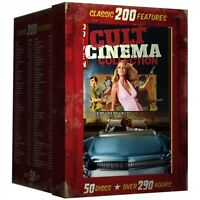 Cult Cinema Collection 200 Classic Features Sealed 50 Dvd Set