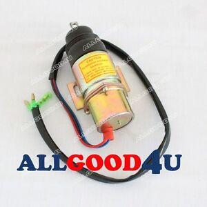 Stop solenoid 8944533430 Z8944533430 Z5819100260 24V for Isuzu Engine