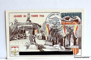 Yt 1477 Aix En Provence 1966 France Carte Maximum 1° Jour Fcp
