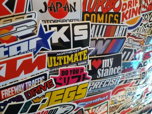 Racing Stickers Team Logo Driftin Moto GP Formula 1 F1 Car Team Garage Decal PC