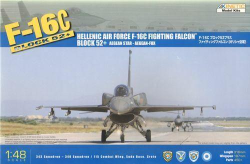 selección larga Kinetic 1 48 Ellenica F - - - 16c Fighting Falcon Blocco 52+  48028  en promociones de estadios
