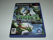 TMNT : TEENAGE MUTANT NINJA TURTLES by UBISOFT for PS2 (PAL) COMPLETE