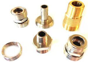 Adapter-1-4-5-8-3-4-Zoll-IG-AG-Zapfanlage-Fitting-Verschraubung-Druckminderer