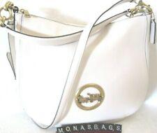 f19c3b97db Coach F31400 Elle Hobo Chalk Pebbled Leather Hobo Shoulder Bag NWT $395