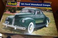 Revell Monogram 1 25 '40 Ford Standard Coupe Model Kit hot rod series SEAL Toys