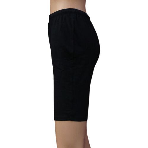Chex Cotone Lycra Pantaloncini Donna Unisex Cravatta Cycle Esercizio Fitness Esecuzione Jogging