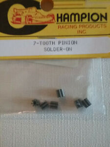 Champion-603-A-NEW-7-Tooth-48-Pitch-Pinion-Gear-Solder-On-Qty-6