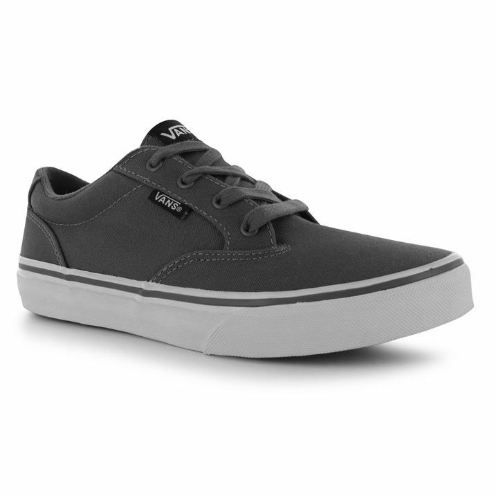 BRAND NEW IN BOX - WINSTON VANS TRAINERS - GREY - SIZE 4