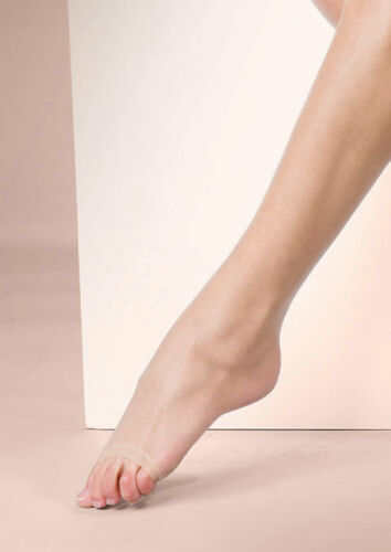 10 Denier Ultra sheer Naturals Open Toe Tights Toeless Sheer Bare Look Tights