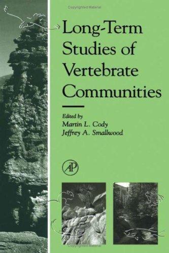 Long-Term Studies of Vertebrate Communities, , , Good, 1996-10-29,