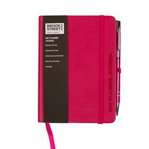 day planner notebook hardback a6 undated day planner undated