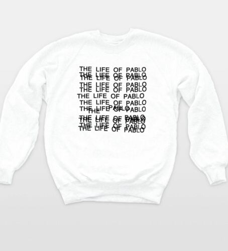 The Life Of Pablo Sweatshirt Kanye Yeezus Hip Hop West Music Jumper