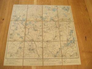 alte Landkarte Messtischblatt Sachsen Nr.38 Radibor von 1906 auf Leinen - Großerkmannsdorf, Deutschland - alte Landkarte Messtischblatt Sachsen Nr.38 Radibor von 1906 auf Leinen - Großerkmannsdorf, Deutschland