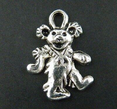 20pcs Tibetan Silver Nice Bear Charm Pendants 22x15mm 9316