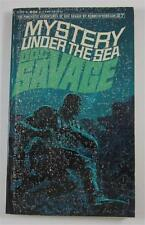 DOC SAVAGE #27 MYSTERY UNDER THE SEA KENNETH ROBESON 1968 BANTAM 1ST ED PB