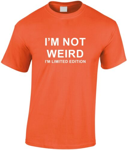 I/'m Not Weird I/'m Limited Edition Children/'s T Shirt Kid/'s Top Xmas Gift Present