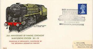 RAILWAY-1972-PL6-Naming-Britannia-BRIDGNORTH