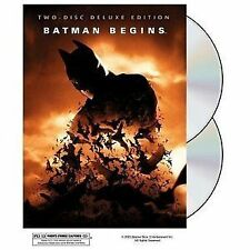 Batman Begins, Two Disc Deluxe Edition, DVD