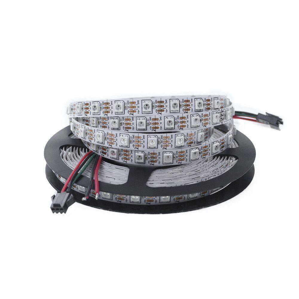 ALITOVE 16.4ft WS2812B Individually Addressable RGB LED Flexible Strip (K3C)