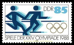 EBS-East-Germany-DDR-1988-Summer-Olympics-Seoul-Michel-3189-MNH