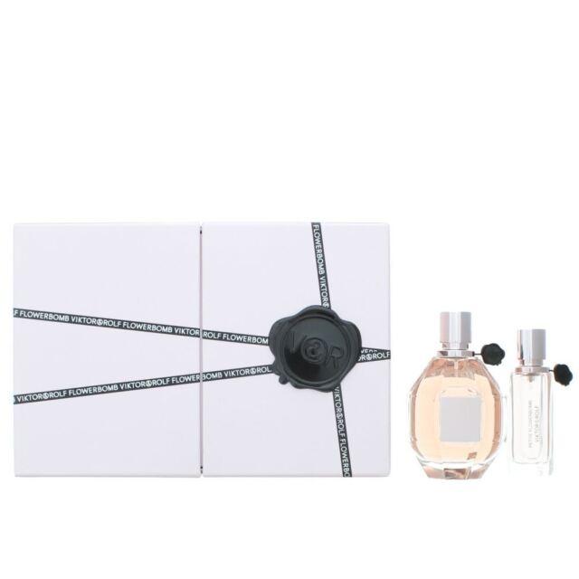 ff83b93bc123 Viktor   Rolf Flowerbomb Eau de Parfum 100ml   EDP 20ml Gift Set For Her NEW