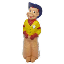 1950s HOWDY DOODY SHERIFF Rubber Doll LARGE SIZE by Stahlwood