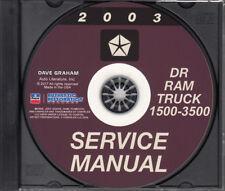 2003 dodge ram 3500 workshop service repair manual