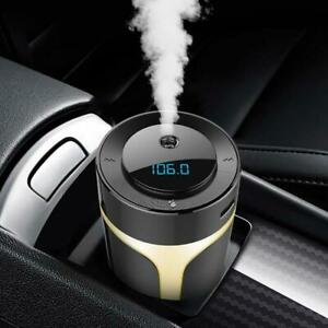 Ultrasonic Aroma Humidifier with Car FM Transmitter and Car charger