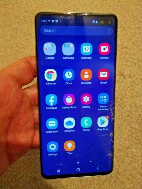 Samsung Galaxy S10+ Plus Factory Unlocked Phone G975U1, READ