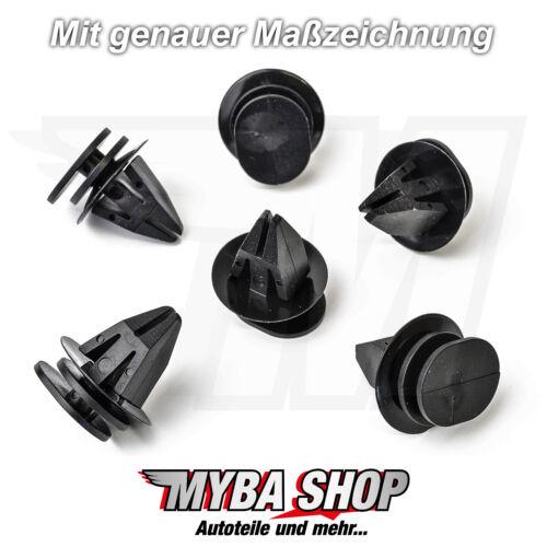 10x Befestigungs Clips aus Kunststoff für BMW MINI Cooper07131480419