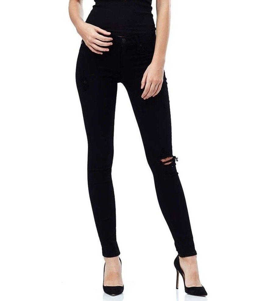 Nwt Hudson Sz26 Krista Super Skinny-Stretch Jeans Edelherb
