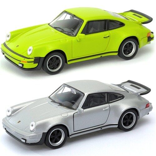 Porsche 911 Turbo Green Welly 43683f Scale 1 34 39 Model Toy Car