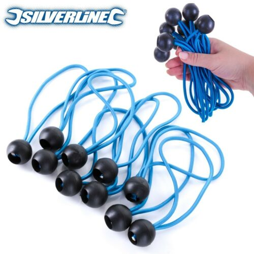 Choose Amount BUNGEE BALL END CORDS Boat Cover Tarpaulin Tie Down Fasteners UK