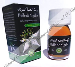 Huile-de-Nigelle-100-Pure-amp-Naturelle-30ml-Black-Cumin-Seed-Oil